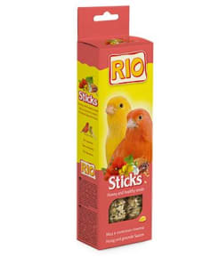 Rio Палочки для канареек с медом и полезными семенами, 0.080кг