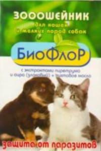 Ошейник от блох БиоФлор для кошек