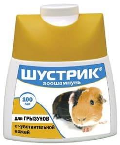 Шампунь Шустрик для грызунов с чувствительной кожей, 0.1кг