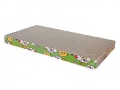 Когтеточка картон  №1 Уют прямоугольная большая с мятой 47,5*25*3,8 КГ01
