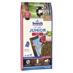 Bosch Junior с ягнёнком и рисом сухой корм для щенков, 1кг