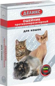 Ошейник от блох ДЕЛИКС NEXT для кошек