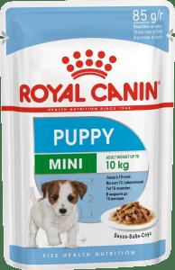 Royal Canin MINI PUPPY 0.085кг, Корм для щенков в возрасте c 2 до 10 месяцев