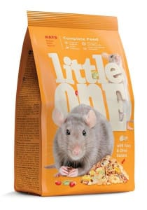 Корм для крыс Little One, 0.9кг