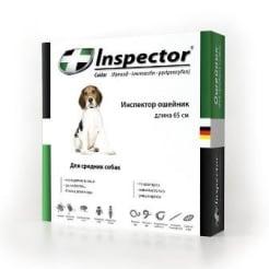 Ошейник от блох Inspector для собак средних пород