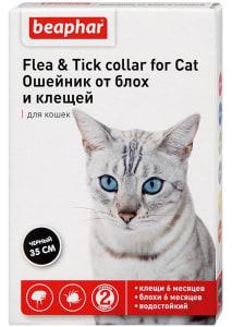 Ошейник от блох и клещей БЕАФАР для кошек