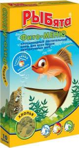 Корм для рыб ЗОО Рыбята фито меню хлопья