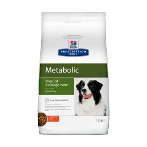 Сухой диетический корм для собак Hill's Prescription Diet Metabolic способствует снижению и контролю веса с курицей, 1.5кг