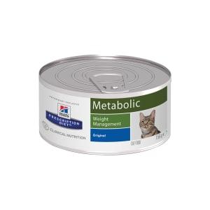 Влажный диетический корм для кошек Hill's Prescription Diet Metabolic способствует снижению и контролю веса, 0.156кг