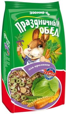 Корм для кроликов Зоомир праздничный обед 270 гр