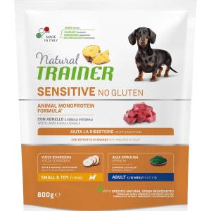 Trainer Sensitive No Gluten Adult Mini Lamb для маленьких пород с ягненком сухой корм для собак, 0.8 кг