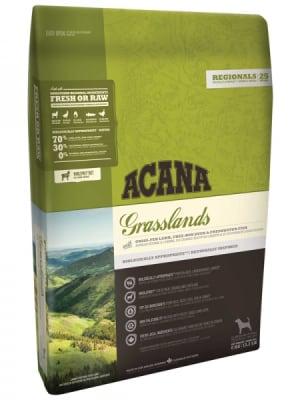 Acana для собак и щенков Grasslands со вкусом ягненка, 2кг