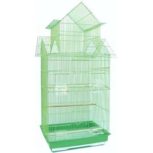 Клетка для птиц № 1 ( 47 * 36 * 100 ) высокая комплект 608А