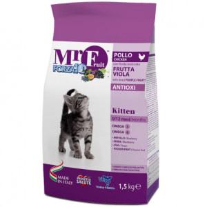 Корм для котят Forza10 Mr. Fruit Kitten со вкуом курицы, риса, кукурузы, 1.5кг