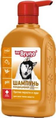 Шампунь-кондиционер М.Бруно для собак против перхоти, 0.350л