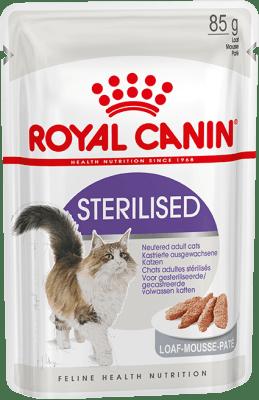 Royal Canin STERILISED (В ПАШТЕТЕ) 0.085кг, Влажный корм для стерилизованных кошек