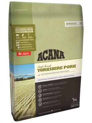 Acana для собак с чувствительным пищеварением Yorkshire Pork со вкусом свинины, 0.34кг