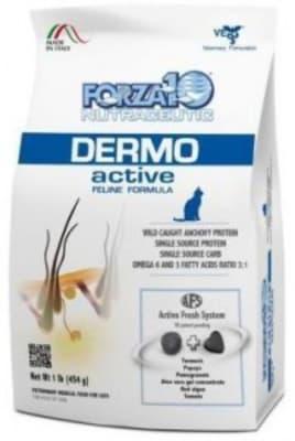 Корм для кошек Forza10 Dermo Active, 0.45кг