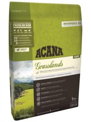 Acana для кошек и котят Grasslands со вкусом ягненка, 0.34кг