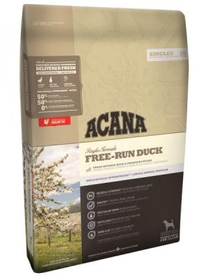 Acana для собак с чувствительным пищеварением Free-Run Duck со вкусом утки, 11.4кг