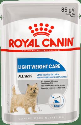 Royal Canin COAT BEAUTY POUCH LOAF (В ПАШТЕТЕ) 0.085кг, Влажный корм для собак, предрасположенных к набору избыточного веса