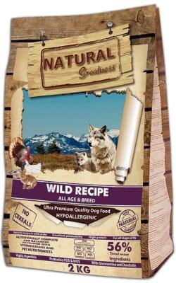 NG Wild Recipe сухой корм для собак всех пород и возрастов, 12кг