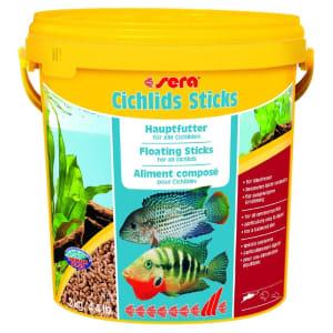 Корм для рыб SERA Cichlids Sticks для цихлид в палочках, 10л