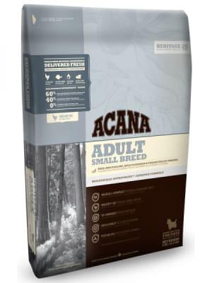 Acana для для взрослых собак миниатюрных пород Adult Small Breed со вкусом цыпленка, 2кг