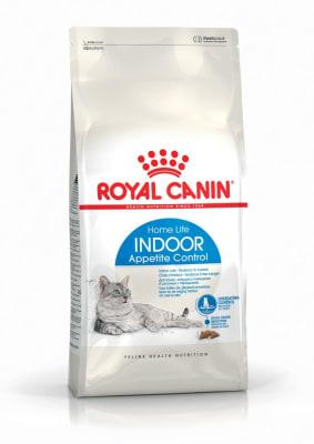 Royal Canin INDOOR APPETITE CONTROL 0.4кг, Корм для кошек, склонных к перееданию от 1 до 7 лет
