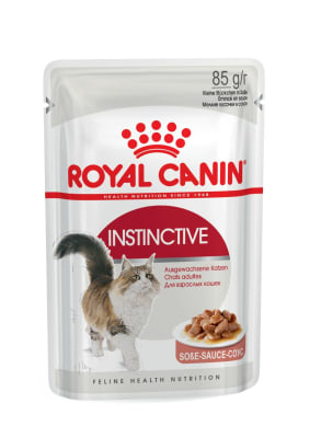 Royal Canin INSTINCTIVE (В СОУСЕ) 0.085кг, Влажный корм для кошек старше 1 года