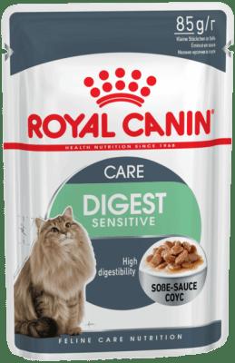 Royal Canin DIGEST SENSITIVE 0.085кг, Корм для кошек старше 12 лет