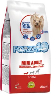 Корм для кошек Forza10 Maintenance Mini со вкусом оленины и картофеля, 2кг