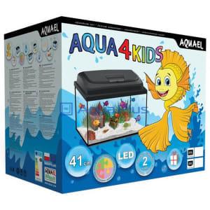 Аквариум AQUAEL Aqua4KIDS 40, фигурный объемом 20л