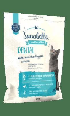 Кошачий корм Sanabelle Dental для здоровья зубов и дёсен, 10кг