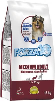 Корм для кошек Forza10 Maintenance Medium/Large со вкусом ягненка и риса, 12.5кг
