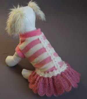 Платье Ассоль розовое размер XS