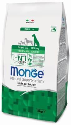 Monge Dog Maxi корм для щенков крупных пород 3 кг