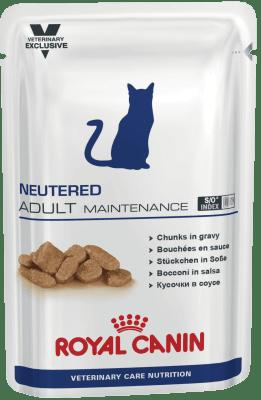 Royal Canin NEUTERED ADULT MAINTENANCE 0.1кг, Для кастрированных/стерилизованных котов и кошек с момента операции до 7 лет