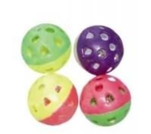 Игрушка для кошек Мяч пластмассовый 3,5 см