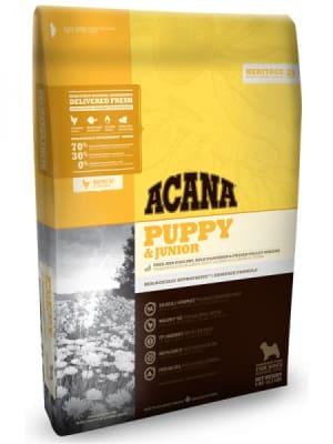 Acana для щенков средних пород Puppy & Junior со вкусом курицы, 17кг