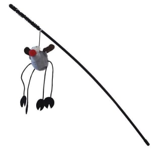 Игрушка для кошек Дразнилка удочка монстрик