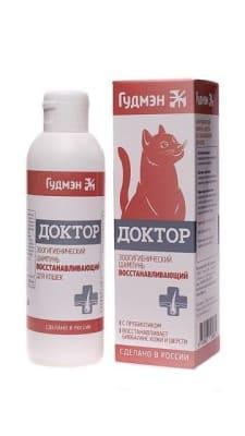 Шампунь восстанавливающий Доктор Гудмэн для кошек, 0.200л.
