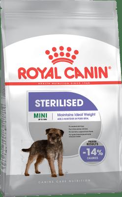 Royal Canin MINI STERILISED ADULT 4кг, Корм для стерилизованных собак