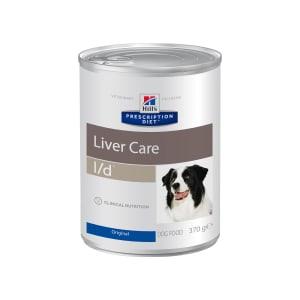 Влажный диетический корм для собак Hill's Prescription Diet l/d Liver Care при заболеваниях печени, 0.37кг