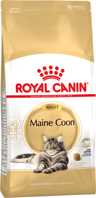 Royal Canin MAINE COON ADULT 0.4кг, Корм для кошек породы мейн-кун старше 15 месяцев