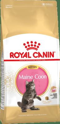 Royal Canin MAINE COON KITTEN, Корм для котят породы мейн-кун в возрасте до 15 месяцев, 0.4кг