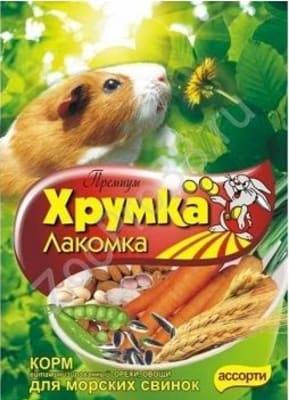 Корм для морских Свинок Хрумка Премиум Орехи и овощи