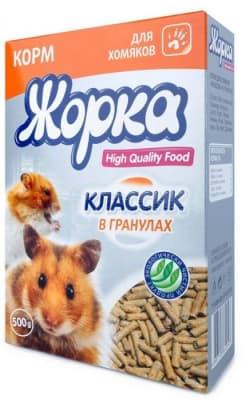 ЖОРКА для кроликов HQF 500гр гранулы классик