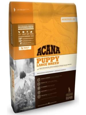 Acana для щенков крупных пород Puppy Large Breed со вкусом курицы, 11.4кг