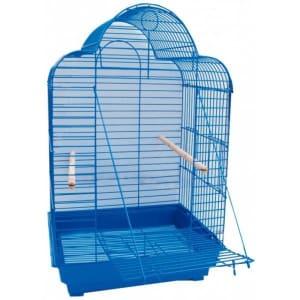 Клетка для птиц № 1 ( 52 * 41 * 71 ) фигурная овальная откидная дверь 800